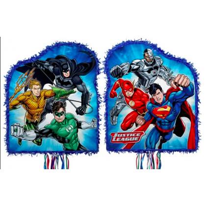 Justice League™ Licensed Outline Pull Piñata