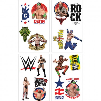 WWE® Party Tattoo Favors
