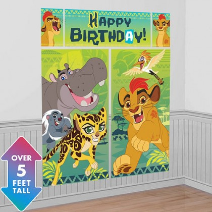 Disney The Lion Guard Scene Setters® Wall Decorating Kit - Plastic