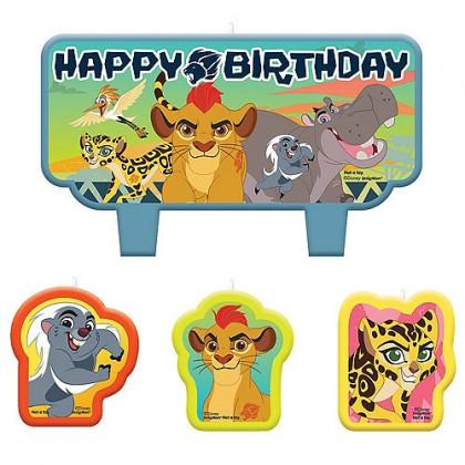 Disney The Lion Guard Birthday Candle Set