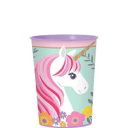 Magical Unicorn Favor Cup - Plastic