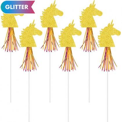 Magical Unicorn Wands - Glitter Cardboard