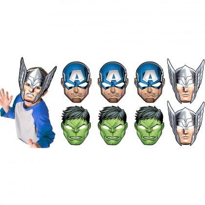 Marvel Epic Avengers Masks - Paper
