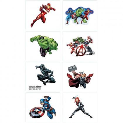 Marvel Epic Avengers Tattoo Favors