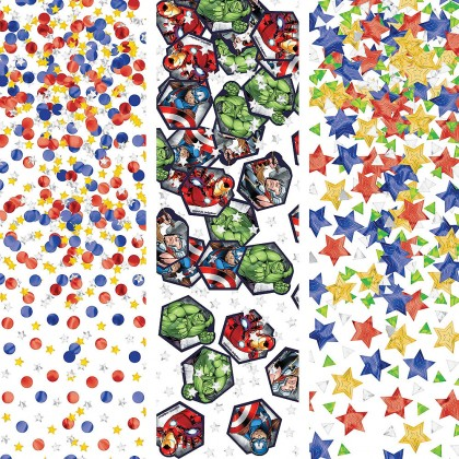 Marvel Epic Avengers Value Pack Confetti - Foil & Paper