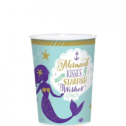 Mermaid Wishes Favor Cup - Plastic