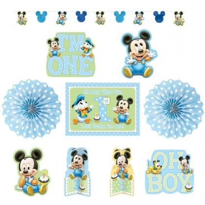 ©Disney Mickey's 1st Birthday Decorating Kit