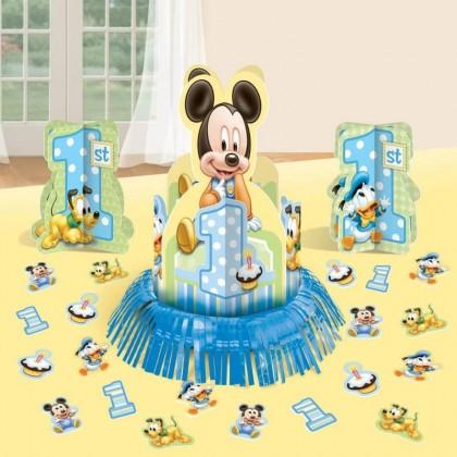 ©Disney Mickey's 1st Birthday Value Table Decorating Kit
