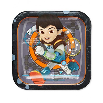 Miles from Tomorrowland Square Plates, 7""