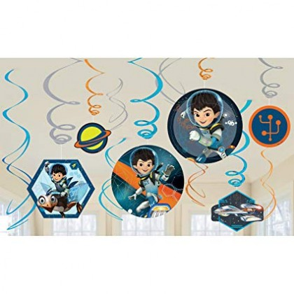 Miles from Tomorrowland Value Pack Swirl Decorations