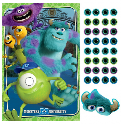 ©Disney Monsters University Party Game