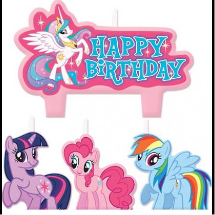 My Little Pony™ Friendship Birthday Candle Set