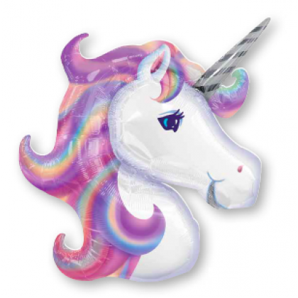 """P35 33"""" Pastel Unicorn SuperShape™"""