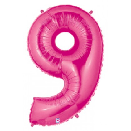 """40"""" Megaloon Pink No 9"""