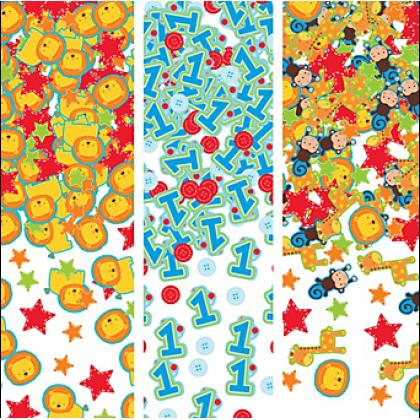 """""""One"""" Wild Boy Value Confetti - Paper"""