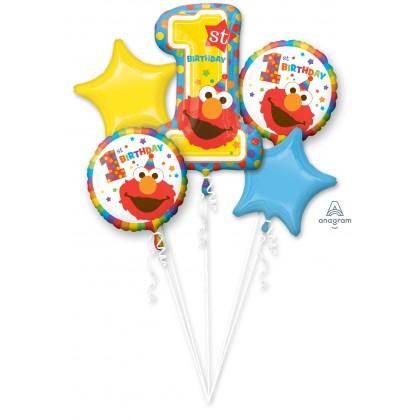 P75 Sesame Street 1ST Birthday Bouquet