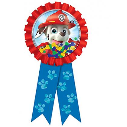 Paw Patrolv Confetti Pouch Award Ribbon