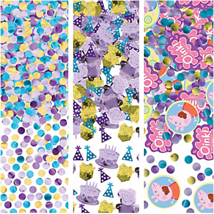 Peppa Pig™ Value Confetti - Paper & Foil