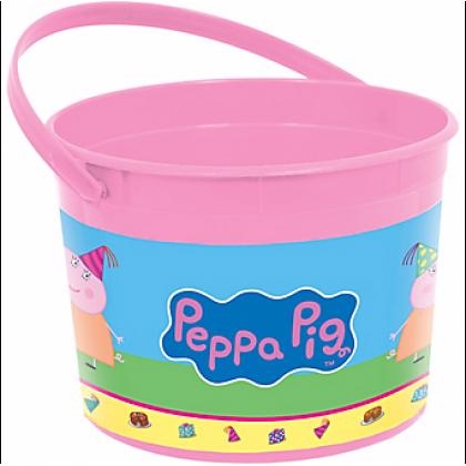 Peppa Pig™ Favor Container - Plastic
