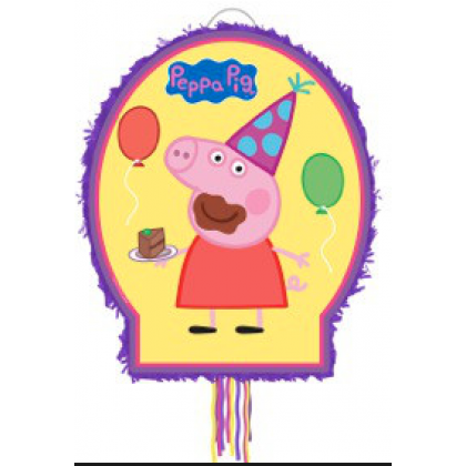 Peppa Pig™ Licensed Outline Piñata