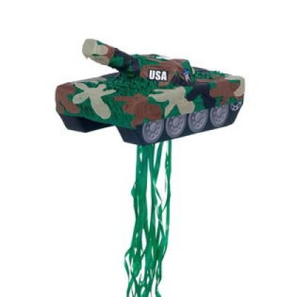Tank Conventional Pull Piñata