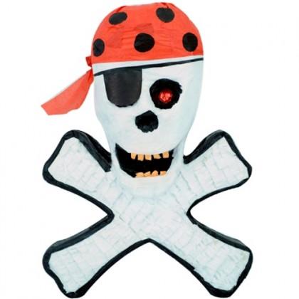 Pirate Skull Crossbones Pinata