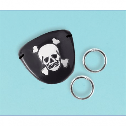 Pirate's Treasure Eye Patch & Earring Favors