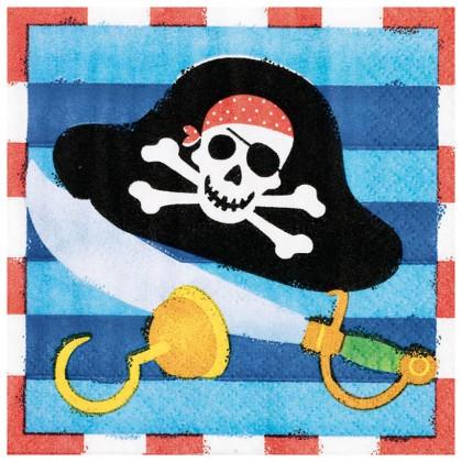 Pirate's Treasure Beverage Napkins