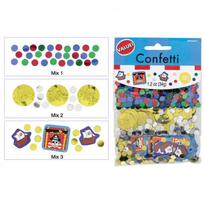 Pirate's Treasure Value Confetti - Paper & Foil