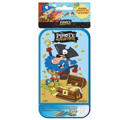 Sticker Activity Kits - Pirate Adventures