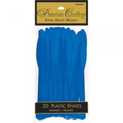 Plastic Knives - Bright Royal Blue