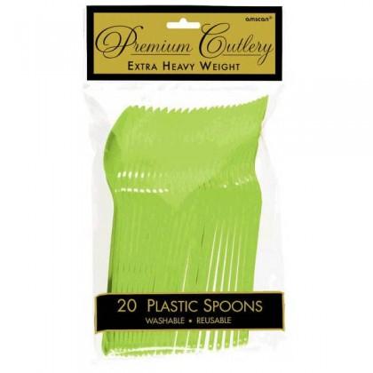 Plastic Spoons - Kiwi