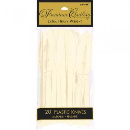 Plastic Knives - Vanilla Creme