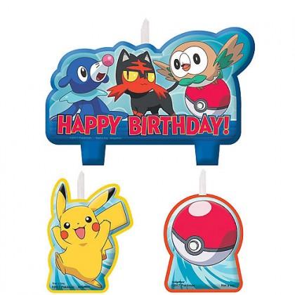 Pokémon Core Birthday Candle Set