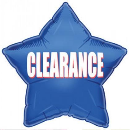 """Q 20"""" Clearance Star Balloon"""
