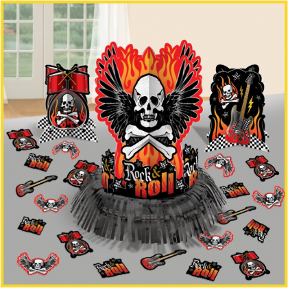 Rock On Table Decorating Kit