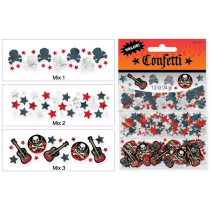 Rock On Value Pack Confetti Mix - Paper & Foil