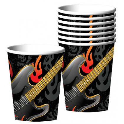 Rock On Cups, 9 oz.