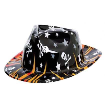 Rock Star Flame Hat - Vac Form