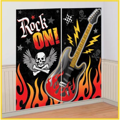Rock On Scene Setters® Room Roll - Plastic