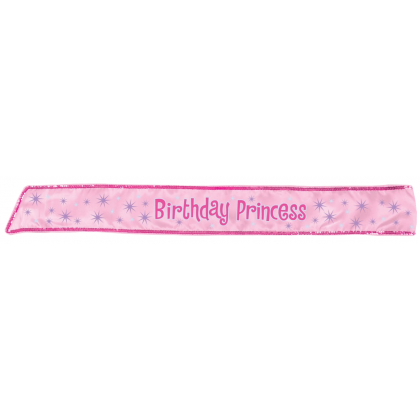 "30"" Birthday Princess Sash"