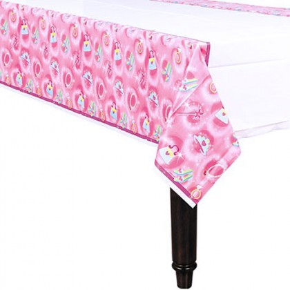 Princess Plastic Table Cover