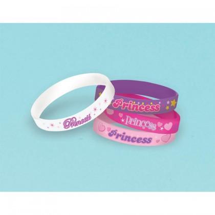 Princess Rubber Bracelet Favors