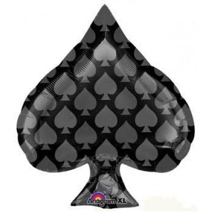 "S50 22"" Black Spade Junior Shape"