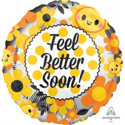 """S40 17"""" Feel Better Happy Standard HX®"""