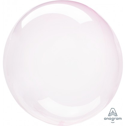 "S40 15"" Crystal Clearz™ Light Pink Orbz™ XL®"