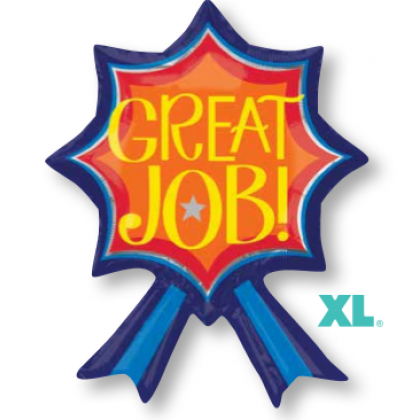 "S50 24"" Blue Ribbon Great Job Junior Shape XL®"