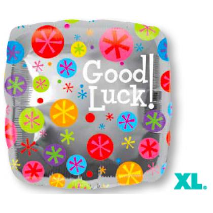 """S40 17"""" Good Luck Bubble Burst Standard XL®"""