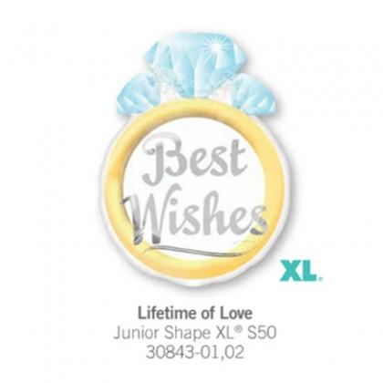 "S50 21"" Lifetime of Love Junior Shape XL®"