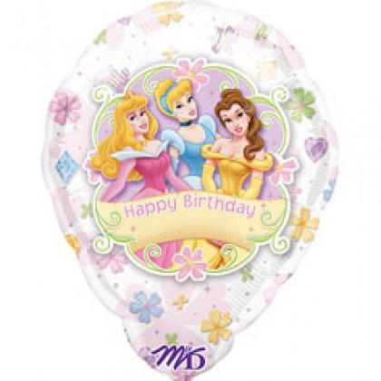 "S80 18"" Multi Princess™ Personalized Balloon"